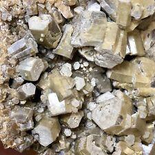 Vanadinite var Endlichite Crystals in Matrix - Puit XI, Mine de Toussit, Morocco