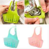 Adjustable Snap Sink Sponge Storage Rack Hanging Basket Kitchen Storage Holder