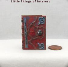 1:6 Scale Hocus Pocus Book of Spells Magic Spell Book Readable Book Barbie Scale