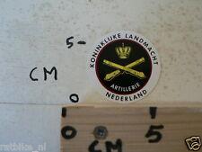 STICKER,DECAL KONINKLIJKE LANDMACHT,ARMY,ARTILLERIE