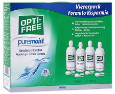 Opti-Free Puremoist 4X300ML All-in-One Lösung von Alcon