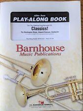 Saxophone music books Play Along Classics w/cd.