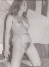 AKTFOTO NUDE Originalfoto Vintage 70er Jahre. Aktstudie. Hübsche Pose.