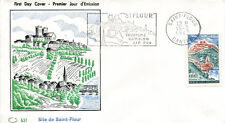 FRANCE FDC - 480 1392 2 SAINT FLOUR flamme 15 6 1963