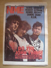 NME 1984 APR 21 THREE JOHNS REM SANDIE SHAW COSTELLO