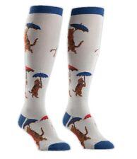41796ff1ae Sock It To Me Raining Cats Adult Umbrellas Funky Knee High Socks Womens 5-10