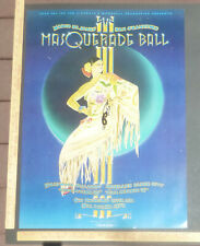 RandyTutenSigned Margo St. James MasqueradeBall Poster 1979 SanFrancisco La Nyc