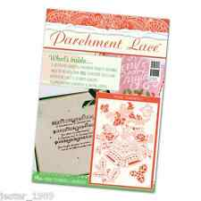 Tattered Lace Pergament Magazin Christmas 2016 & GRATIS Florentine Bells Raster
