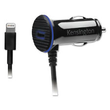 Kensington PowerBolt 3.4 Dual Port Fast Charge Car Charger 39794