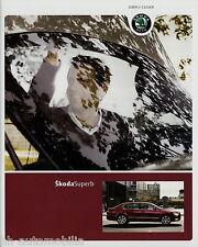 Prospekt Škoda Superb Limousine 2010 Autoprospekt Broschüre 3 10 Skoda brochure