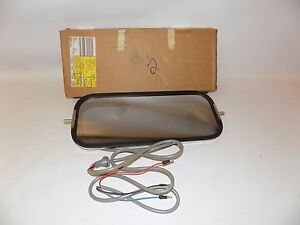 New OEM Ford Vtg Heavy Truck LH Tow Side LTD Heated Mirror Left Driver w/ Marker