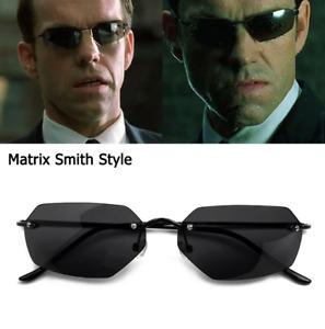 Luxury 2020 Classic The Matrix Agent Smith Style Polarized Sunglasses For Men Co
