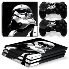 Storm Trooper PS4 Pro Protective Skin Stickers Console & 2 Controllers - #0040