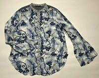 Desigual womens long sleeve shirt size L