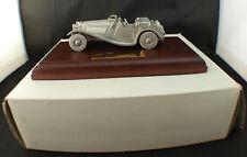 Matchbox ◊ 1936 SS 100 Jaguar metal sur socle en bois  ◊1/43 boxed /boîte MIB