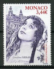 Monaco 2019 MNH Geraldine Farrar Opera Singers 1v Set Music Famous People Stamps