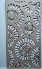 Radiator Cabinet Decorative Screening Perforated 3mm & 6mm thick MDF laser cutS1