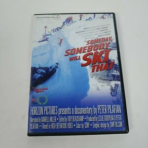 Rare Someday Somebody Will Ski That DVD Documentary Jackson Hole Ski Resort OOP