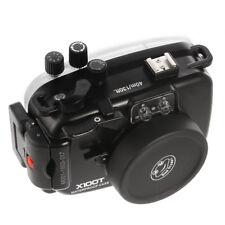 40M 130FT Waterproof Underwater Diving Housing Case For Fujifilm X100T Camera