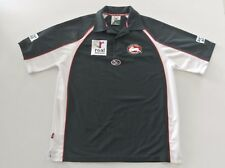 ISC SOUTH SYDNEY RABBITOHS  NRL POLO AND TRAINING CAP SHIRT SIZE MEDIUM VGC