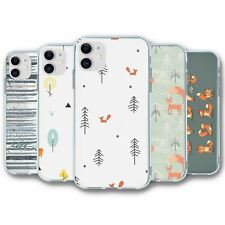 For iPhone 11 Silicone Case Cover Fox Collection 4