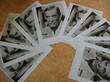 """Lot of 10 Peter O'Toole 8"""" X 10"""" black and white photos"""