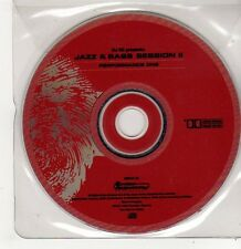 (FF708) DJ SS presents: Jazz & Bass Session II, Performance One - 1998 CD