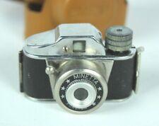 Vintage Minetta of Japan Miniature Spy Camera  [5152]
