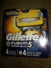 GILLETTE FUSION 5 PROSHIELD  4-PACK CARTRIDGES