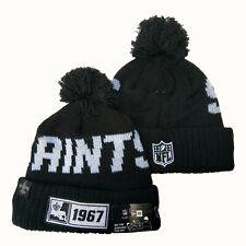 2019 New Orleans Saints New Era NFL Knit Hat On Field Sideline Beanie Hat