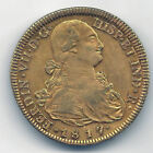 Fernando VII 8 Shields 1817 About 1813 Santiago F. J. @ With Leaves @Doubloon@