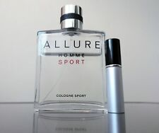 Chanel ALLURE HOMME SPORT COLOGNE - 5ml Aluminum Travel Atomizer Sample