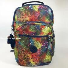 KIPLING SEOUL Large Backpack with Laptop Protection Good Luck Charm