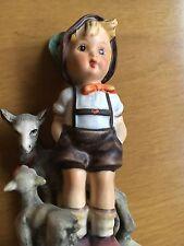 Vintage Hummel Figurine - Little Goat Herder - Tmk4 -