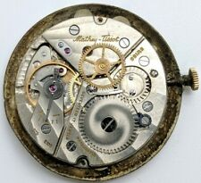 Rare Mathey Tissot Peseux 330 17 jewel center second watch movement running