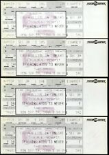 4 Unused Chicago Live In Concert Tickets Sep 10th 1990 Teaching Kids To Never