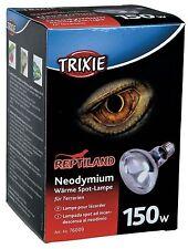 Neodymium Basking Spot Lamp Reptile Heat Bulb E27 Thread 150w