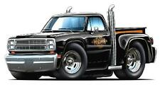 """1979 Dodge Truck Wall Sticker Graphic """"LIL"""" Red Express Man Cave Boys Bed Room"""