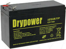 12v 7ah AGM Lead Acid Battery - 2.2kg High Energy Density True Capacity