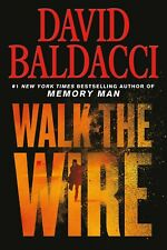 WALK THE WIRE best seller by David Baldacci (hardcover) Like New