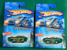 2005 Hot Wheels ~ ASPHALT JUNGLE #4/5 ~  Deora ~ 2 Tampo Variations ~ 2 Cars