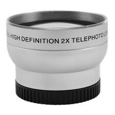 43mm 2.0X Magnification Tele Telephoto Lens for Canon Nikon Pentax DSLR Camera