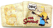 Homer Simpson Guitar Wallet purse 3 card slots bill section id window
