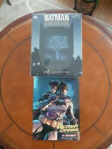 Batman The Dark Knight Returns Book & Mask Set (w/ free Batman Catwoman poster)
