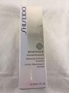 SHISEIDO Benefiance WrinkleResist24 Balancing Softener Enriched 5oz/150ml, BNIB