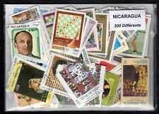 Nicaragua 300 timbres différents