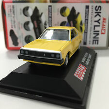 1/72 DATSUN Skyline Yellow History Collection 3rd GC210 YODEL REAL-X Japan +6