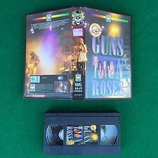 PAL/VHS Music - GUNS N'ROSES , Eden Video ITALY EV-GUN , Axl Rose Slash