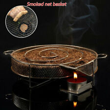 Cold Smoke Generator BBQ Grill Smoker Wood Dust Hot Stainless Cooking BBQ Tools