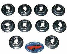 GM Dash Trim Panel Molding Clip Emblem Pal Thread Cutting Speed Nuts 10pcs H